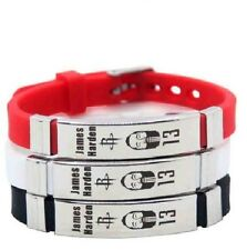 James Harden Basketball Bracelet Silicone Stainless Steel adjustable Wristband