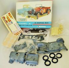 HUBLEY MODEL A FORD PICK UP TRUCK MODEL KIT METAL BODY No.4855 NEW OPEN BOX