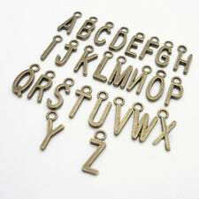 Hot 26Pcs Antique A-Z Letters Metal Charms DIY Jewelry Findings Accessories