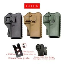 New Tactical Hunting Vest Right Hand Molle Gun Pistol Holster for Glock 17 19 22