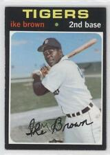 1971 Topps #669 Ike Brown Detroit Tigers Baseball Card
