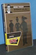 Fritztrainer: No Fear of 1.d4! by Tiviakov Catalan & Queen's Indian (Chess DVD)