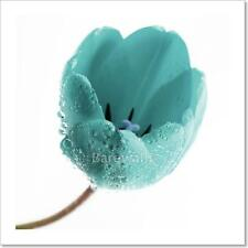Turquoise Tulip Art Print/Canvas Print Home Decor Wall Art