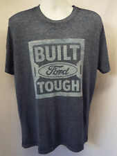 FORD BUILT FORD TOUGH Men's (S-2XL) T-shirt Logo Vintage feel  NEW! OFFICIAL
