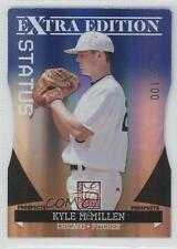 2011 Donruss Elite Extra Edition Prospects Blue Status Die-Cut #13 Kyle McMillen