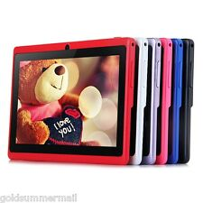 "7"" Q88H A33 Android 4.4 Tablet PC WVGA Screen A33 Quad Core 1.2GHz 8GB WiFi BT"