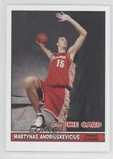 2005 Topps Bazooka #208 Martynas Andriuskevicius Cleveland Cavaliers Rookie Card