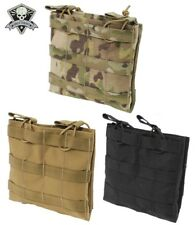Grey Ghost Gear Double 223/5.56 Mag Pouch-Multicam-Coyote Brown-Black