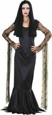 Morticia Licensed Addams Family Ladies Halloween Costume Dress