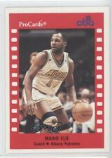 1990-91 ProCards CBA 151 Mario Elie Albany Patroons (CBA) Rookie Basketball Card