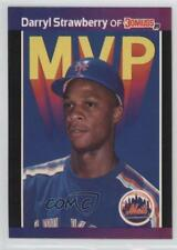 1989 Donruss MVP #BC-6 Darryl Strawberry New York Mets Baseball Card