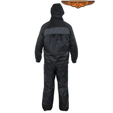 TWO PIECE RAIN SUIT WITH REMOVABLE HOOD Small to 4XL New #SALE RS21-Hood