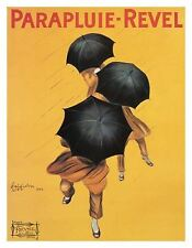 LEONETTO CAPPIELLO PARAPLUIE - REVEL, 1922   Cubical ART   Gifts   FREE Shipping