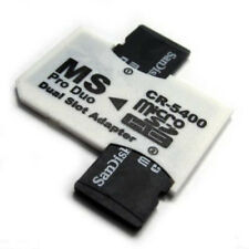 Memory Stick Pro Duo Adapter Micro SD SDHC TF Card Reader for Sony PSP Fast Ship
