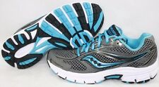 NEW Womens SAUCONY Grid Cohesion 8 S15218-12 Grey Blue Running Sneakers Shoes