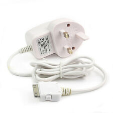 UK High Quality Wired Mains Charger Wall Plug Adapter for iPhone 4 4S 4G 3GS 3G