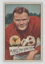 1952 Bowman Large #71 Dewitt Coulter New York Giants Football Card