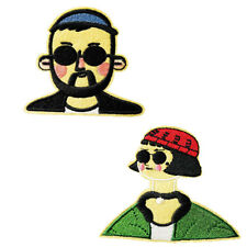 Leon The Professional Film Embroidered Patch Applique Iron On / Sew On Patches