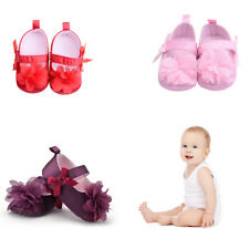 Baby Girl  Todder First Walkers Shoes Infant  Prewalker Flower Soft Sole Shoes