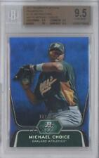 2012 Bowman Platinum Prospects Blue Refractor #BPP8 Michael Choice BGS 9.5 Card