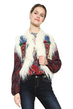 Desigual Blue Denim Lylou Gilet Jacket 36-46 UK 8-18 RRP �109