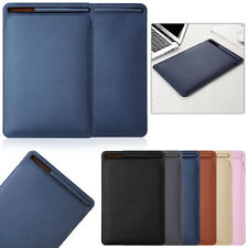 PU Leather Sleeve Case Cover Pouch Skin For Apple Pencil &iPad Pro 9.7 10.5 12.9