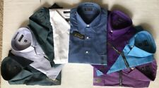 New ARROW Wrinkle Free Long Sleeve Full Button Men's Dress Shirts - CHOICE
