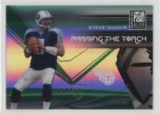 2007 Donruss Elite Passing the Torch Green #PT-1 Steve McNair Tennessee Titans
