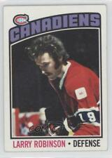 1976-77 Topps #151 Larry Robinson Montreal Canadiens Hockey Card