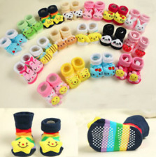 0-12 Months Baby Anti-slip Socks Cartoon Newborn Slipper Shoes Boots Baby Shoes