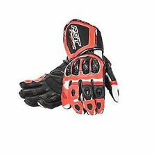 RST Tractech Evo Race 1317 Motorcycle Gloves Kangaroo F.Red