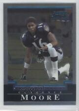 2004 Bowman Chrome #183 Clarence Moore Baltimore Ravens RC Rookie Football Card