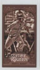 2012 Topps Gypsy Queen Mini Sepia #349 Dustin Ackley Seattle Mariners Card