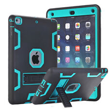 iPad Air 1 Shockproof Hybrid Armor Case Cover Screen Protector Film Stylus Pen