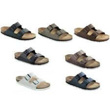 SALE Birkenstock Arizona Sandals - white brown blue black - Birko-Flor