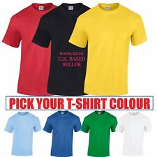 Brand New Plain Blank T Shirt For Kids Boys Girls Child Special