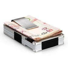 Credit Card Holder Business Name ID Card Clip Case Bag Stainless Steel Healthy