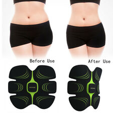 EMS Muscle Training Body Shape Fit Set ABS Six Pad Fitness Massage Trainer ec