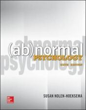 Abnormal Psychology by Nolen-Hoeksema, Susan