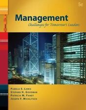 Management: Challenges for Tomorrow's Leaders (with InfoTrac 1-Semester) (Avail