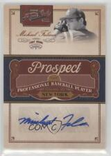 2011 Playoff Prime Cuts Prospect Signatures MF Michael Fulmer New York Mets Auto