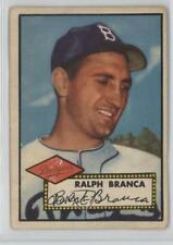 1952 Topps #274 Ralph Branca Brooklyn Dodgers Baseball Card