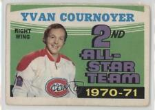 1971-72 O-Pee-Chee #260 Yvan Cournoyer Montreal Canadiens Hockey Card
