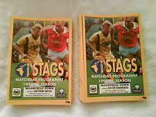 MANSFIELD TOWN HOMES 1990/91