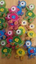 JOB LOT NOVELTY DUCK CHICK PENCIL SHARPENERS 4 COLOURS PARTY GIFT SCHOOL OFFICE