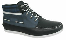 Timberland Newmarket 5 Eye Lace Up 2 Tone Mens Chukka Boat Boot Shoes 6023R T1