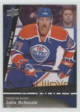 2009-10 Upper Deck #463 Colin McDonald Edmonton Oilers RC Rookie Hockey Card