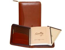 Scully Planner Soft Plonge Leather Weekly Address 5045Z-11