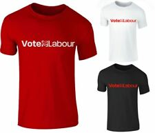 New Mens Vote Labour Party Support Election Campaign Jeremy Corbyn T Shirt Top