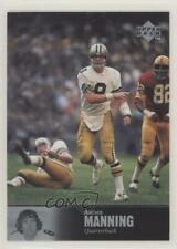 1997 Upper Deck NFL Legends #133 Archie Manning New Orleans Saints Football Card